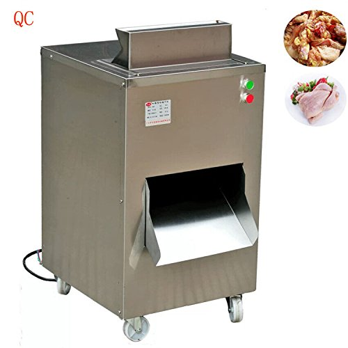 Kohstar 380V/220V QC meat slicer, Restaurant meat cutting machine chicken cutter machine 800KG/HR