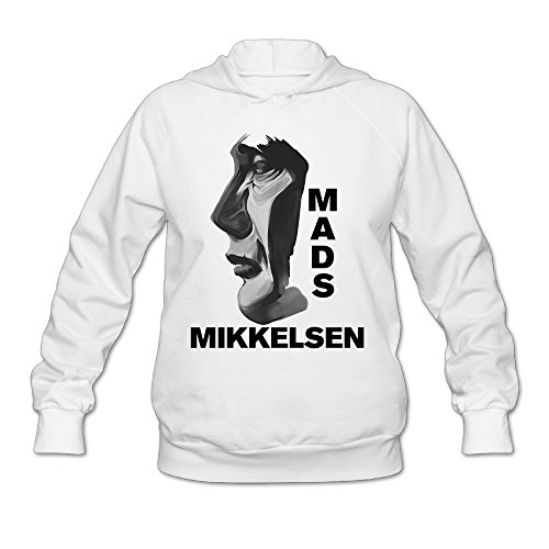 Price comparison product image Show Time Women's Mads Mikkelsen Hannibal Classic Hoodies White XXL