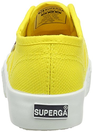 Baskets Colors 2730 Yellow Fille Rouge Jaune Sunflower Superga 176 Cotj Hearts xqR4I4