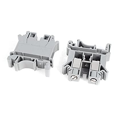 Amazon.com: 2pcs Universal UK10N 800V 76A elétrica DIN Rail Screw Bloco Terminal: Musical Instruments