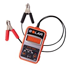 Clore Automotive Solar BA5 100-1200 Cold Cranking Amps Electronic Battery Tester
