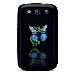 Shockproof Hard Phone Cases For Galaxy S3 (qLl17149Fbjx) Support Personal Customs Vivid Butterfly Skin