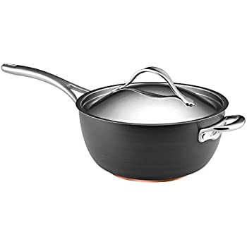 Amazon Com Anolon Nouvelle Copper Hard Anodized Nonstick