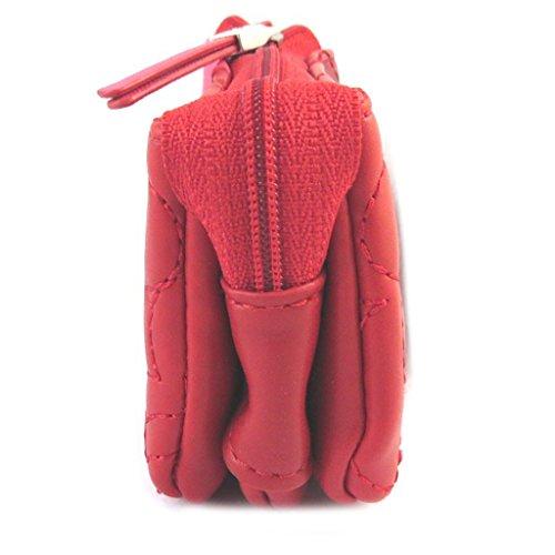 Zip monedero Agatha Ruiz De La Pradade color rojo ...