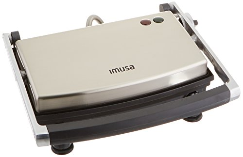 GAU 80103 Electric Stainless Panini Silver