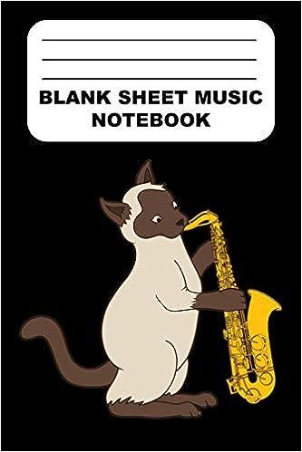 Amazon com: Blank Sheet Music Notebook: Music Composition