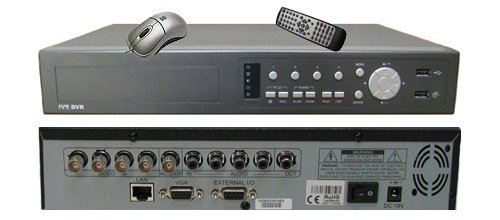0H H.264 HDMI 4 CH Network Security Surveillance DVR Recording System w/1000GB HDD ()