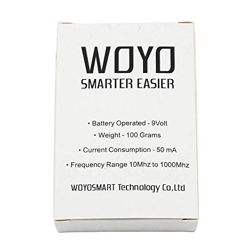 HERCHR Automotive Infrared Frequency Tester, WOYO Portable Remote Control Test Tool, Black by HERCHR (Image #8)