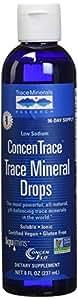 Trace Minerals Research - Concentrace Trace Mineral Drops - 8oz