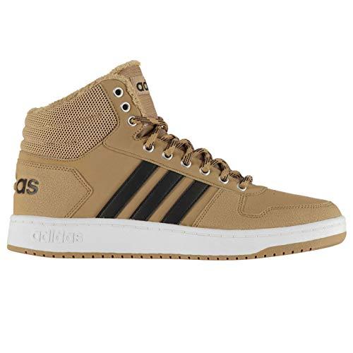 ftwwht Basketball Hoops Mid Chaussures Marron ftwwht cblack cblack Adidas 0 De cardboard Cardbo 2 Homme 1tqPdYtw