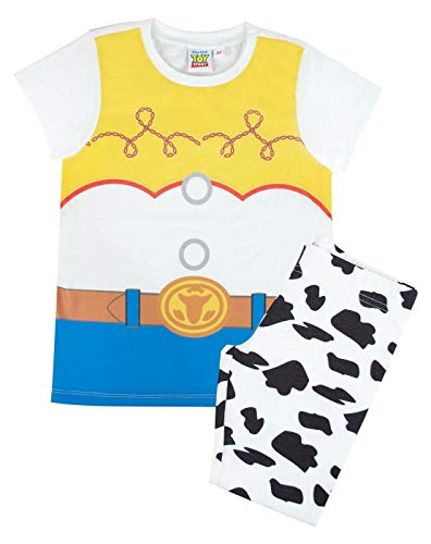Toy Story Jessie Costume Girl's/Kid's Pyjamas White -
