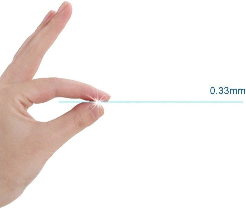 0.33mm Ultra-klar Frei von Kratzern Fingabdr/ücken und /Öl 1 St/ück SONWO Galaxy A50 PanzerglasFolie Schutzfolie HD Displayschutzfolie Kompatibel Samsung Galaxy A50 9H H/ärte