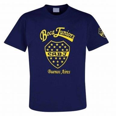 Boca Juniors Shirts (Boca Juniors CABJ Crest T-Shirt)