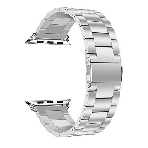 Accessory for Apple Watch Serise 4!!!Kacowpper New Fashion Stainless Steel Watch Band Replacement Wirst Strap for Apple Watch Series 4 40mm/44mm!!Halloween Hot Sale!!!