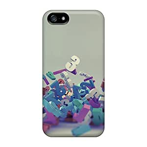 LittleNiccy Slim Fit Tpu Protector QobMe5723SGgDG Shock Absorbent Bumper Case For Iphone 5/5s