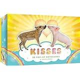 Kisses: 10 Pop-Up Notecards & Envelopes