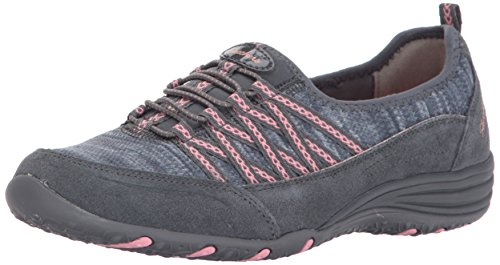 - Skechers Sport Women's Unity-Eternal Bliss Fashion Sneaker,Charcoal/Pink,6.5 M US