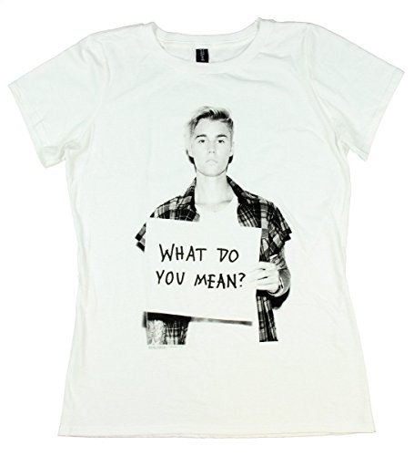 Justin Bieber What Do You Mean? Juniors T-shirt