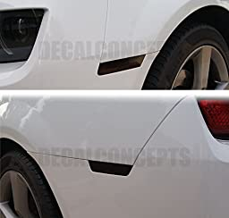 Camaro Side Marker Smoked Tint Decal kit (Front and Rear)(2010-2015)