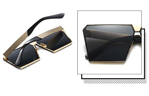 XYLUCKY Moda polarizado gafas de sol cuadradas grandes , c ...