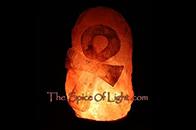 Immortalising Ankh™ Medium Himalayan Salt Lamp Sculpture