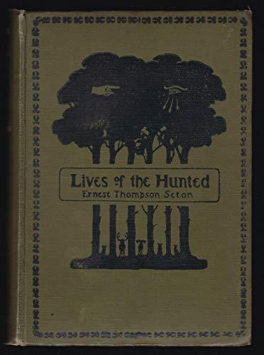 1926 Vtg Ernest Thompson Seton Lives of Hunted Wildlife Artist Animal Stories