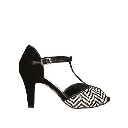 Keys 5151 High Heeled Sandals Women Black 38