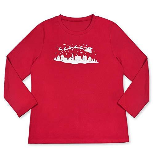 Set Pap Bambino Padre Lunga Natalizio Nightwear Pigiama Famiglia da Uomo Manica Figlio Casa Donna Natale Abbigliamento Abbigliamento AqgaYwBH