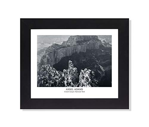 - Ansel Adams Grand Canyon B/W Photo Wall Picture Framed Art Print