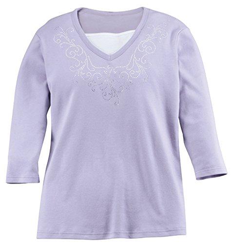 Sparkle 3/4 Sleeve T-shirt - 5