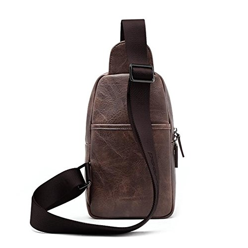 Hiking Anti Cycling Casual Chest Sling Travel color Pack Bag With For Headphone Shoulder Black Outdoor Backpack Cross Women Body Port Blue theft Man Zqtnawd