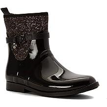 MICHAEL Michael Kors Women's Charm Stretch Rain Bootie Rain Boots