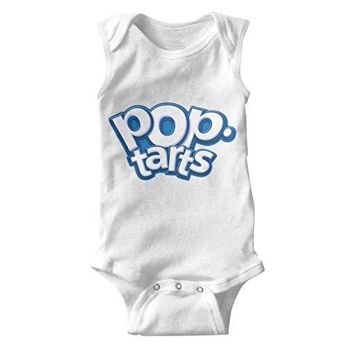 y Boy Print Short Sleeve Novelty Pop-Tarts-Logo- Onesie Custom Romper ()