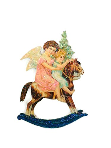 Christmas Tree Ornament Decoration Holiday Rocking Horse Angel