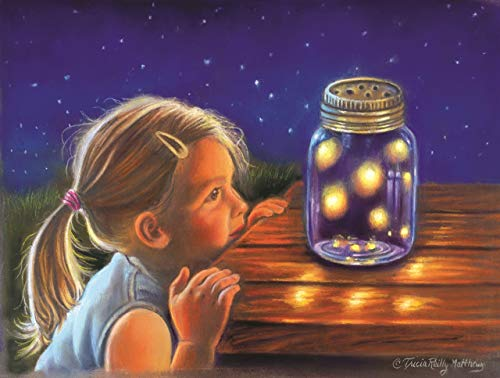 Magical Fireflies 300 pc Jigsaw Puzzle by SunsOut (Firefly Serenity Kit Model)