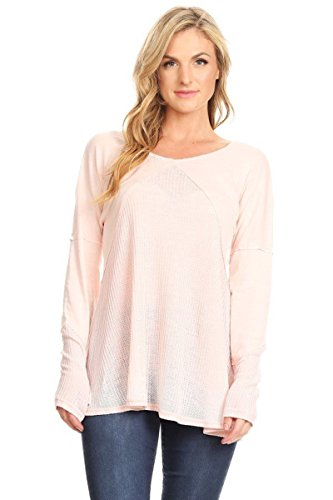 Thermal Long Sleeve Burnout (T Party Women Long Sleeve Thermal Burnout Top)