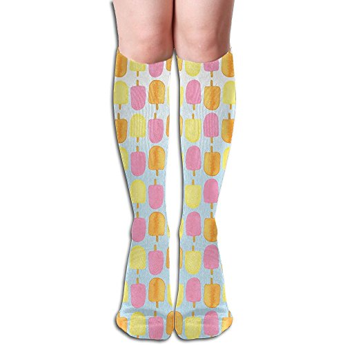 Long Stocking Color Popsicles Women's Over Knee Thigh Winter Warm Sexy Stocks Knitting -