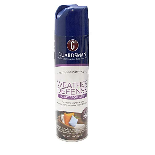 Guardsman Weather Defense Outdoor Fabric Furniture Protector - 10 oz - Repels Moisture and Stains - 462000