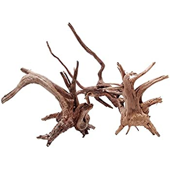 Amazon Com Natural Tree Trunk Driftwood Aquarium Fish