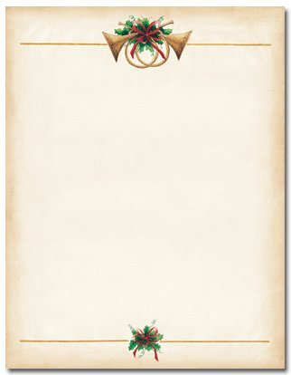 Masterpiece Antique Horns Letterhead - 8.5 x 11 - 100 Sheets ()