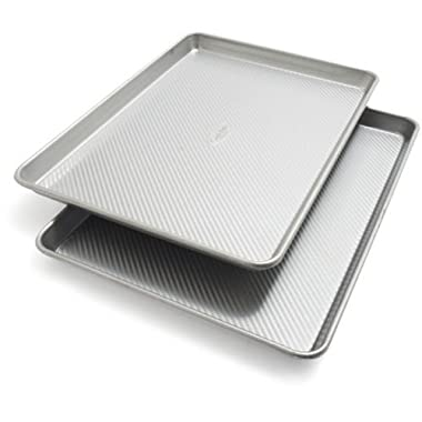 Sur La Table Platinum Professional Half Sheet Pans 21320ST , Set of 2