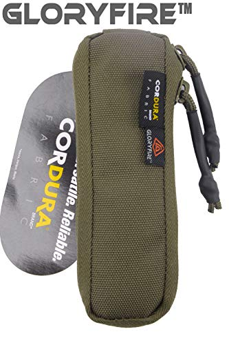 GLORYFIRE Dump Pouch 1000D Cordura Fabric Packable Belt Mounted Molle with Zipper for Outdoor Activities (B11) ()