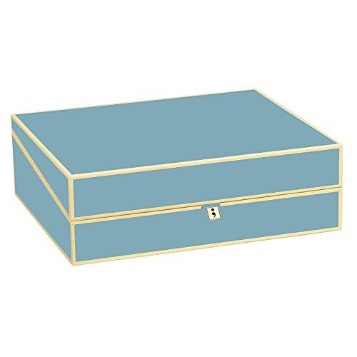 Semikolon the best amazon price in savemoney semikolon letter size a4 size document storage box ciel light blue colourmoves