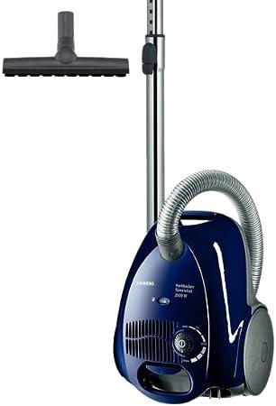 Siemens Vs5A2522 - Aspirador con bolsa (2500W, 3.5L, Acc.Cepillo Parket), color azul oscuro: Amazon.es: Hogar