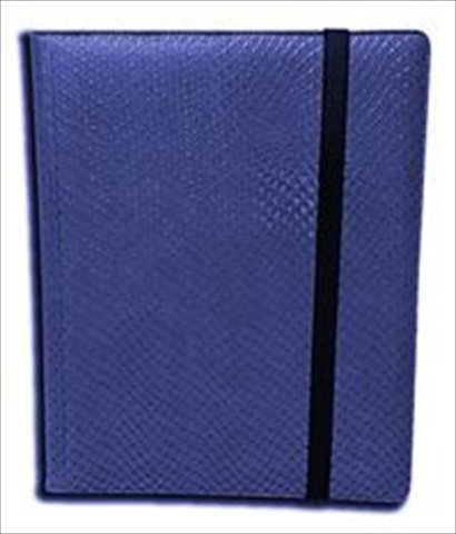 Legion Supplies Binder - 9 Pocket Dragon Hide Blue