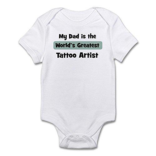 Artist Baby Onesie (CafePress - Worlds Greatest Tattoo Artist - Cute Infant Bodysuit Baby Romper)