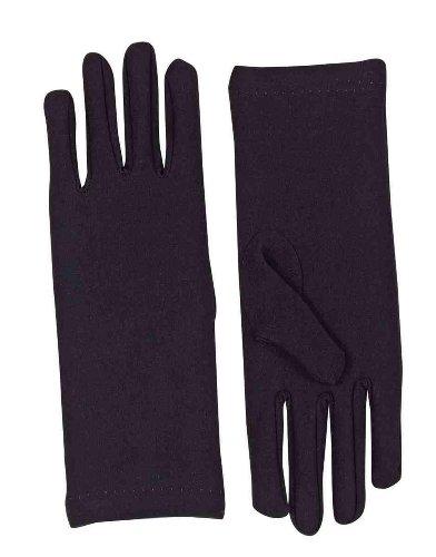 Black Dress Costumes (Forum Novelties Women's Novelty Short Dress Gloves, Black, One Size)