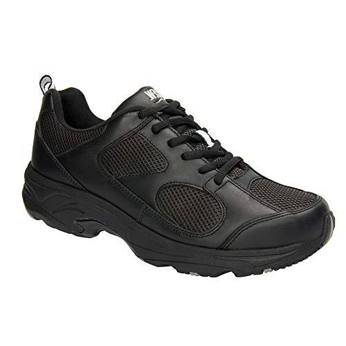 - Drew Men Lightning II 40805 Black/Combo Leather/Mesh Leather/Mesh 8.5 XX-Wide (6E) US