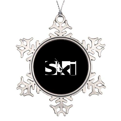 Moc Moc Tree Branch Decoration Ski Snowflake Ornaments Canada Personalised Christmas Tree Decorations
