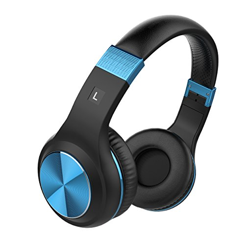 Vomercy Stereo Over-Ear Headphones with Microphone Lightweight and Foldable Wired Headphones